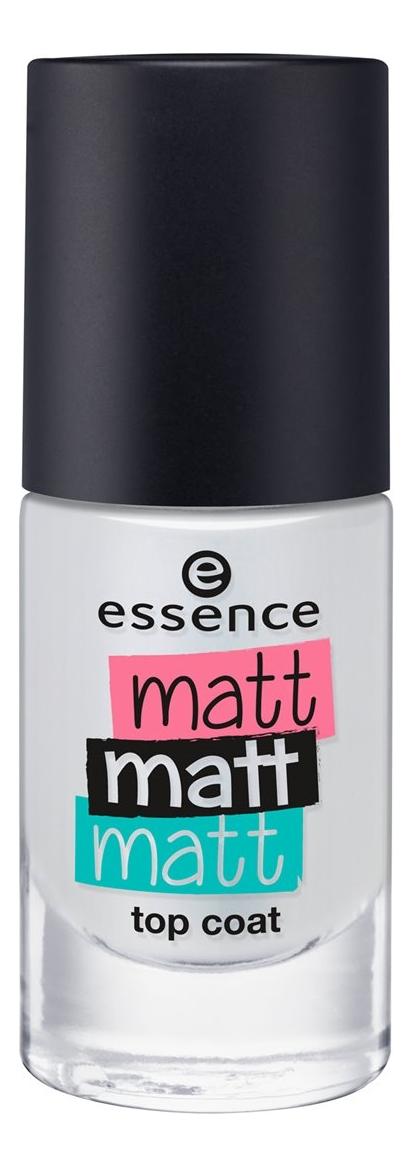 Верхнее матовое покрытие для ногтей Matt Matt Matt Top Coat 8мл кеды matt nawill matt nawill ma085amwds38