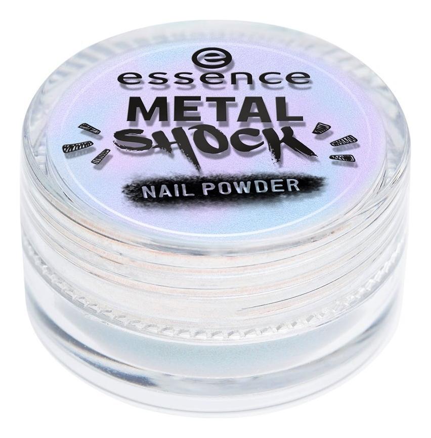 Пудра-втирка для ногтей Metal Shock Nail Powder 1г: 02 Me And My Unicorn эффектная пудра для ногтей counting stars magic mirror effect nail pigment 1г 02 shine bright