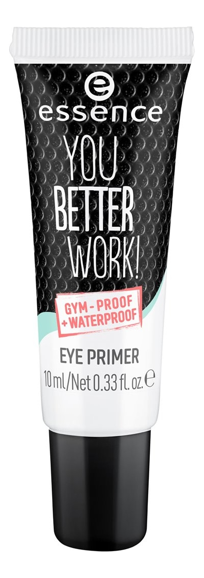Праймер под тени для век You Better Work! Gum-Proof Waterproof Eye Primer 10мл тени для век zao essence of nature zao essence of nature za005lwkjk55