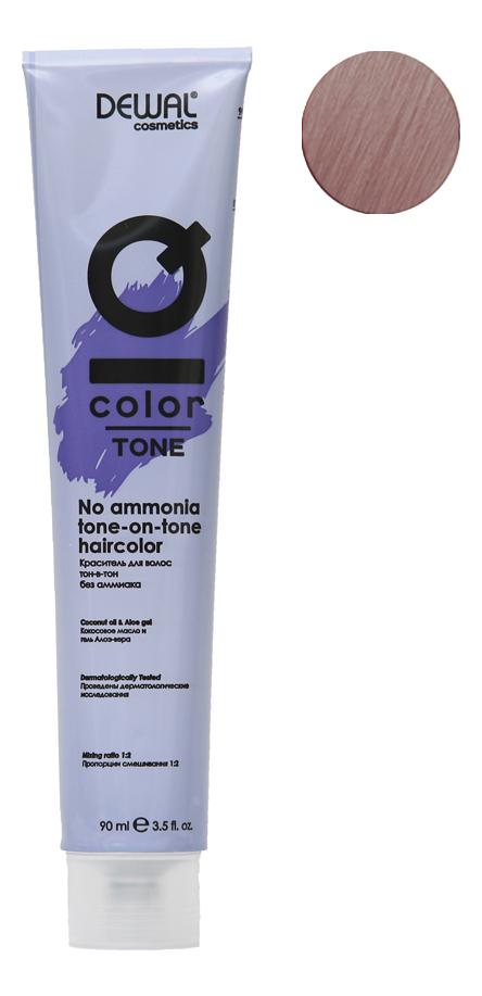 Краситель для волос Тон-в-тон с кокосовым маслом без аммиака Cosmetics IQ Color Tone Haircolor 90мл: 7.21 Pearl Ash Blonde кремовый окислитель с кокосовым маслом cosmetics iq color oxi 9