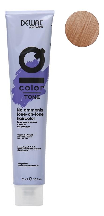 Краситель для волос Тон-в-тон с кокосовым маслом без аммиака Cosmetics IQ Color Tone Haircolor 90мл: 9 Very Light Blonde кремовый окислитель с кокосовым маслом cosmetics iq color oxi 9