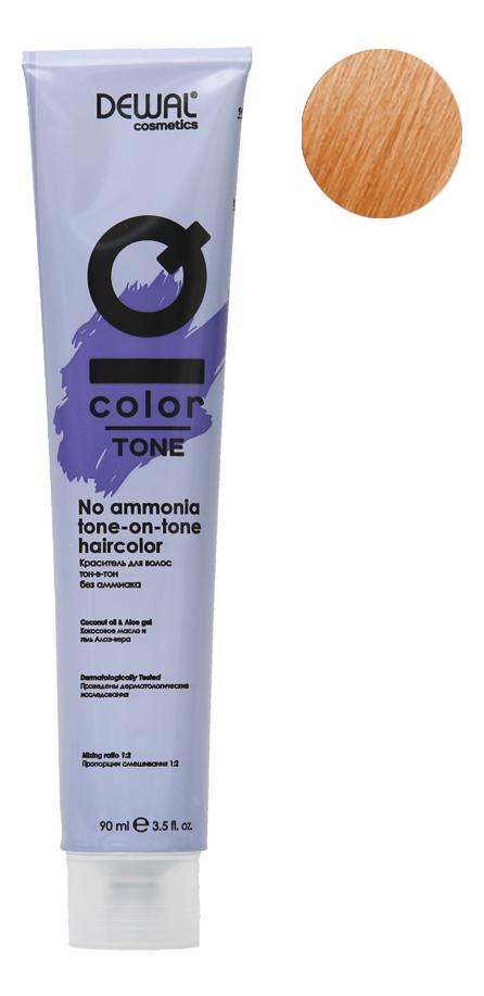Краситель для волос Тон-в-тон с кокосовым маслом без аммиака Cosmetics IQ Color Tone Haircolor 90мл: 9.30 Very Light Gold ... кремовый окислитель с кокосовым маслом cosmetics iq color oxi 9