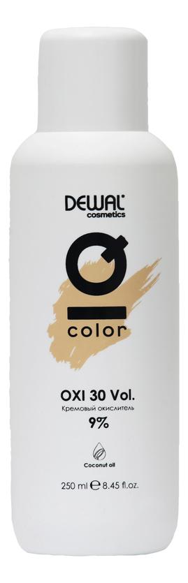 Кремовый окислитель с кокосовым маслом Cosmetics IQ Color OXI 9%: Окислитель 250мл кремовый окислитель с кокосовым маслом cosmetics iq color oxi 3% окислитель 1000мл
