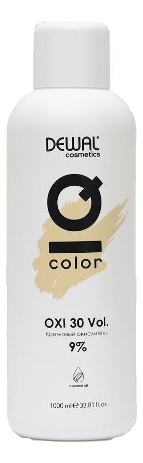 Кремовый окислитель с кокосовым маслом Cosmetics IQ Color OXI 9%: Окислитель 1000мл кремовый окислитель с кокосовым маслом cosmetics iq color oxi 3% окислитель 1000мл