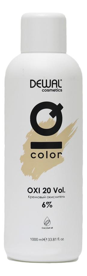 Кремовый окислитель с кокосовым маслом Cosmetics IQ Color OXI 6%: Окислитель 1000мл кремовый окислитель с кокосовым маслом cosmetics iq color oxi 3% окислитель 1000мл