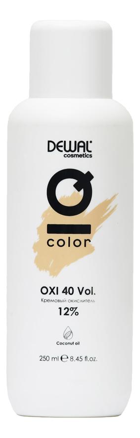 Кремовый окислитель с кокосовым маслом Cosmetics IQ Color OXI 12%: Окислитель 250мл кремовый окислитель с кокосовым маслом cosmetics iq color oxi 3% окислитель 1000мл