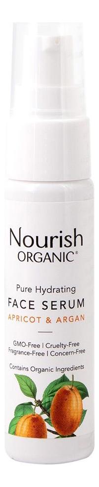 Сыворотка для лица с экстрактом абрикоса и маслом арганы Organic Pure Hydrating Face Serum 20мл сыворотка для лица elements retinoid 3% serum 20мл