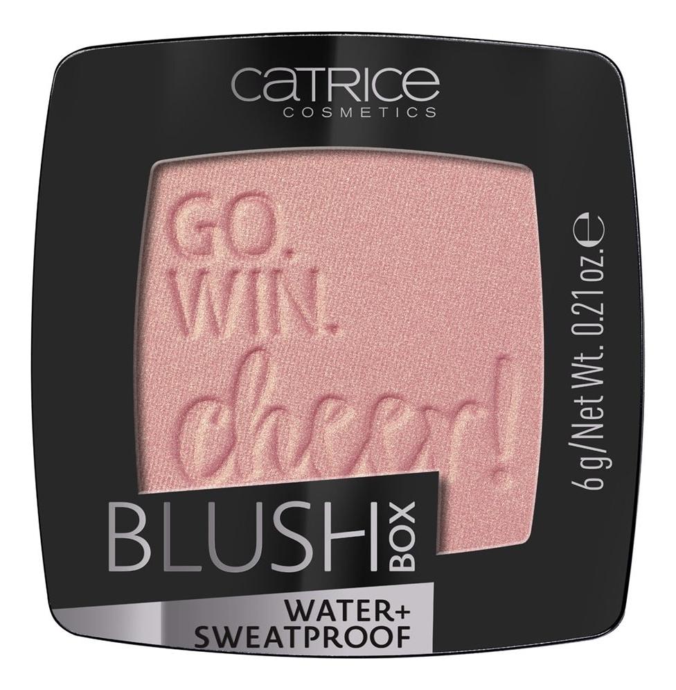 Румяна для лица Blush Box Water+ Sweatprof 6г: 020 Glistening Pink румяна blush box glowing multicolour 2 оттенка