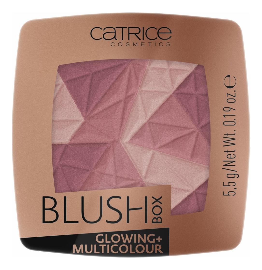 Румяна для лица Blush Box Glowing + Multicolour 5,5г: 020 It'S Wine O'Clock румяна blush box glowing multicolour 2 оттенка