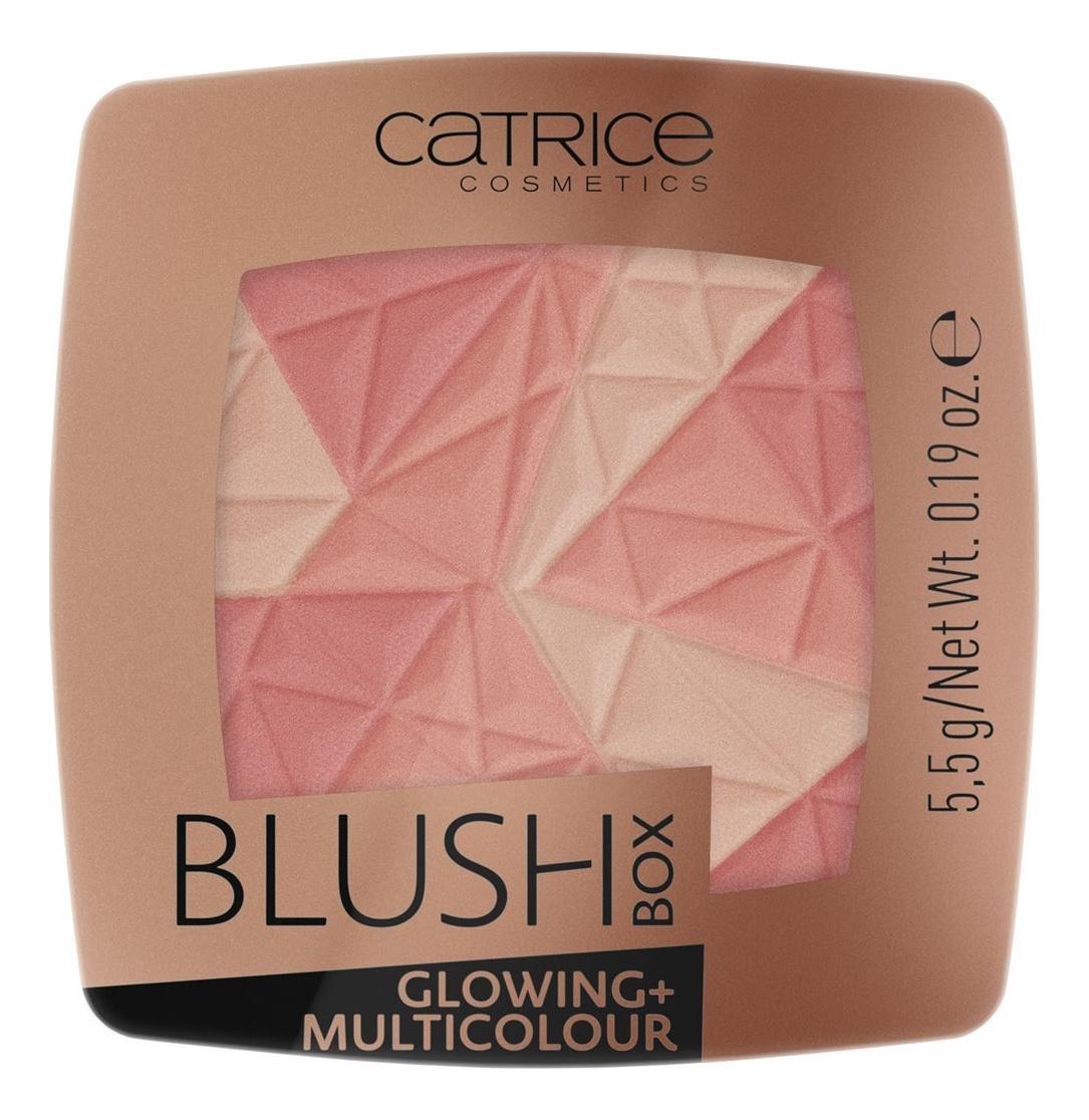 Румяна для лица Blush Box Glowing + Multicolour 5,5г: 010 Dolce Vita румяна blush box glowing multicolour 2 оттенка