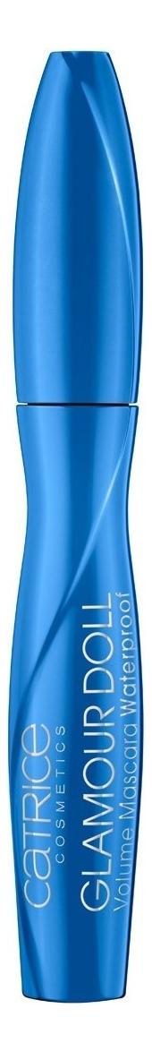 Водостойкая тушь для ресниц Glamour Doll Volume Mascara Waterproof Black 9,5мл ysl тушь vefc водостойкая