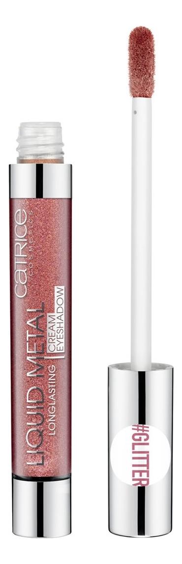 Кремовые тени для век Liquid Metal Longlasting Cream Eyeshadow 6мл: 060 When In Doubt, Add Glitter
