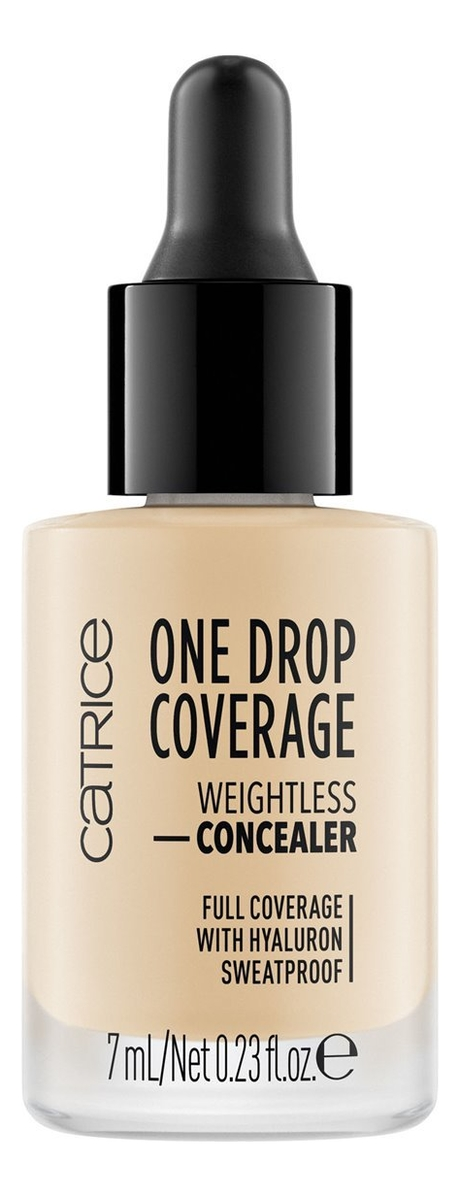 Консилер для лица One Drop Coverage Weightless Concealer 7мл: 005 Light Natural кремовый консилер для лица vibrant skin concealer 7мл 02 light
