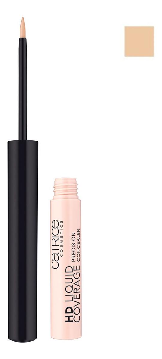 Консилер для лица HD Liquid Coverage Precision Concealer 2,5мл: 030 Sand Beige hd консилер hd hydra cover hydrating concealer palette 6г no2