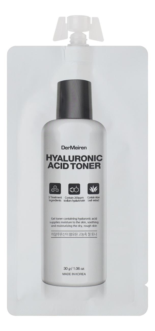 Увлажняющий тонер для лица с гиалуроновой кислотой Hyaluronic Acid Toner 30г тонер для лица с гиалуроновой кислотой hyaluronic acid gel toner 15г