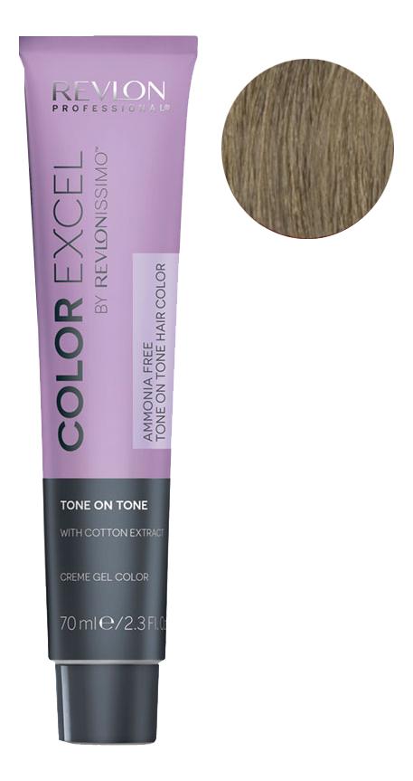 Крем-гель краска для волос Color Excel by Revlonissimo 70мл: 7 Блондин крем гель краска для волос color excel by revlonissimo 70мл 10 01 светло серебрянный