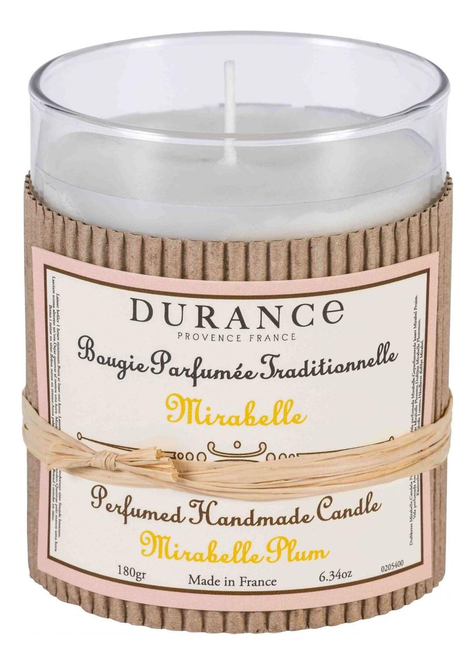 Ароматическая свеча Perfumed Handmade Candle Mirabelle Plum 180г ароматическая свеча perfumed candle cashmere wood 180г дерево кашемира
