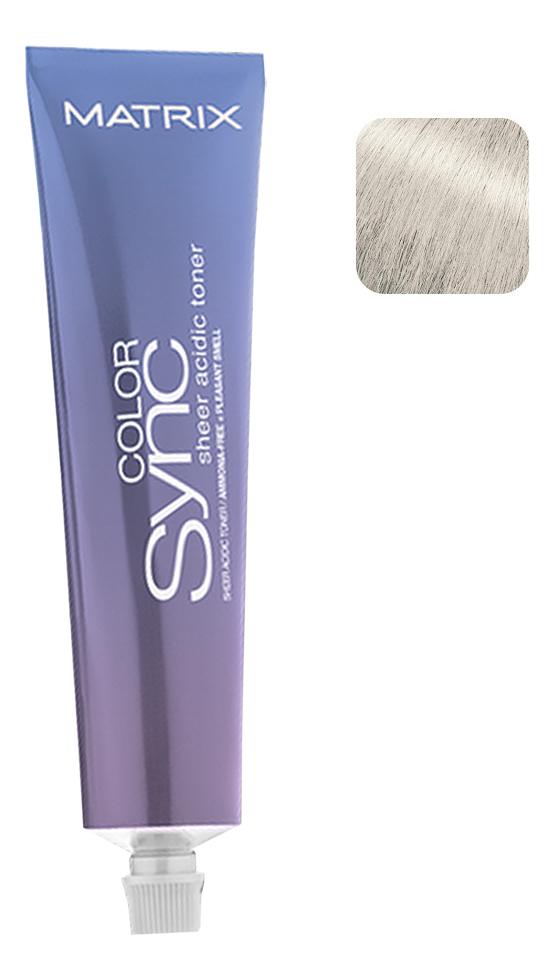 Кислотный тонер для волос Color Sync Acidic Toner Sheer 90мл: Sheer Ash