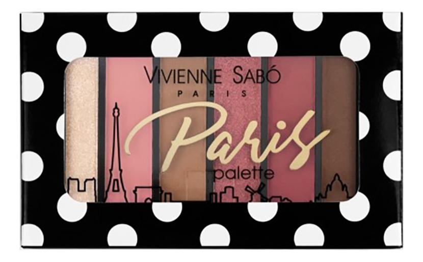 Палетка теней для век Eyeshadow Palette Mini Paris: No 04 палетка теней для век eyeshadow palette mini paris no 01