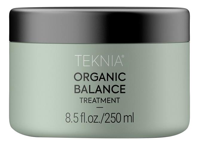 Интенсивная увлажняющая маска для волос Teknia Organic Balance Treatment: Маска 250мл увлажняющая маска авен
