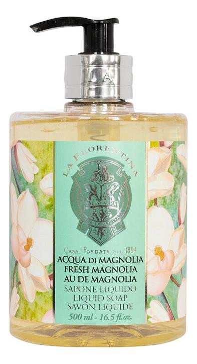 Жидкое мыло Acqua Di Magnolia Sapone Liquido 500мл жидкое крем мыло клубничный десерт 500мл 1118650
