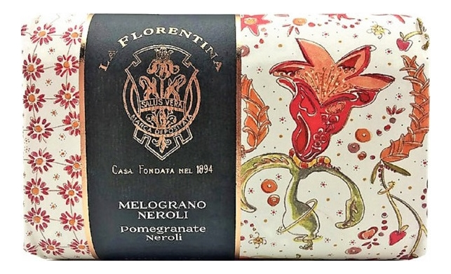 Мыло Giardino Segreto Melograno Neroli Saponetta 270г мыло giardino segreto spigo tosmano camomilla saponetta 270г