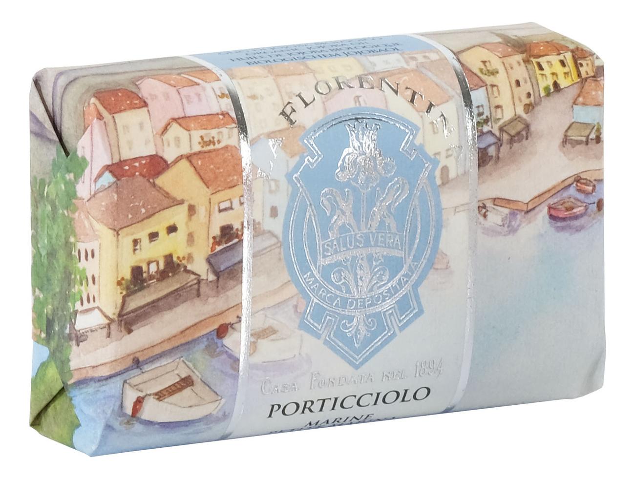 Мыло Porticciolo Saponetta: Мыло 200г мыло giardino segreto spigo tosmano camomilla saponetta 270г