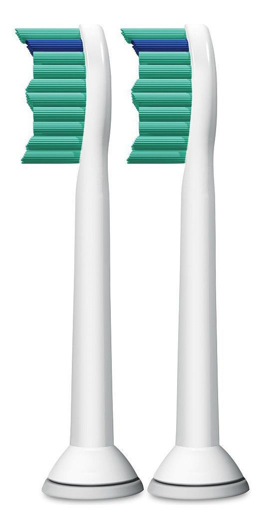 Сменная насадка для электрической зубной щетки ProResults Sonicare HX6012/07 2шт сменная насадка для электрической зубной щетки c2 optimal plaque defence sonicare hx9022 10 2шт