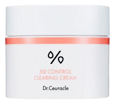 Увлажняющий крем для лица 5A Control Clearing Cream 50мл dr ceuracle тонер увлажняющий hyal reyouth 120 мл