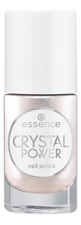 Лак для ногтей Crystal Power 8мл: 01 Be Brilliant