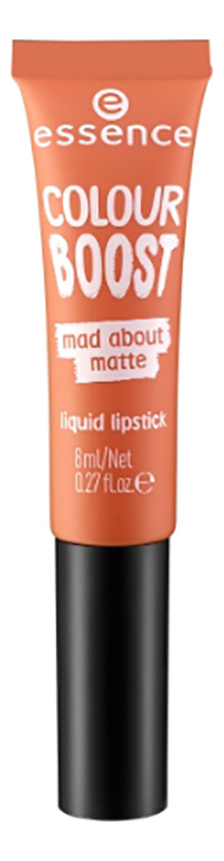 Жидкая матовая помада для губ Colour Boost Mad About Matte Liquid Lipstick 8мл: No 08 жидкая помада для губ glossy stain 8мл ags06 femme fatale