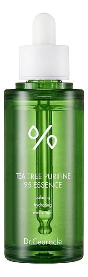 Эссенция для лица с экстрактом чайного дерева Tea Tree Purifine 95 Essence 50мл эссенция для лица с экстрактом ростков баобаба 50мл deoproce musevera