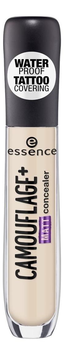 Консилер для лица Essence Camouflage+ Matt Concealer 5мл: 23 Gentle Biege консилер для лица full cover camouflage concealer 8 5мл c4