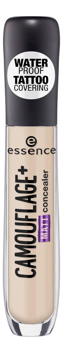 Консилер для лица Essence Camouflage+ Matt Concealer 5мл: 26 Natural Beige консилер для лица full cover camouflage concealer 8 5мл c4