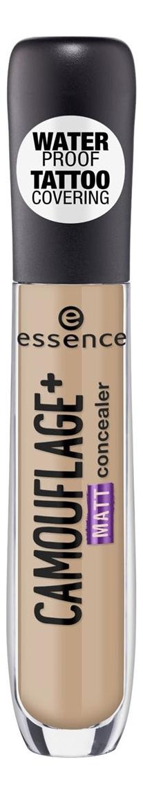 Консилер для лица Essence Camouflage+ Matt Concealer 5мл: 50 Warm Toasts консилер для лица full cover camouflage concealer 8 5мл c4