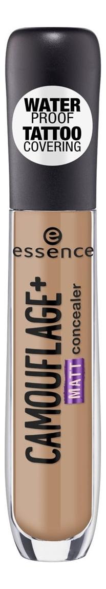 Консилер для лица Essence Camouflage+ Matt Concealer 5мл: 70 Dark Caramel консилер для лица essence camouflage matt concealer 5мл 70 dark caramel