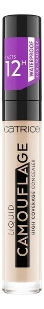 Консилер для лица Liquid Camouflage 5мл: 001 Fair Ivory консилер для лица camouflage cream 3г 010 ivory