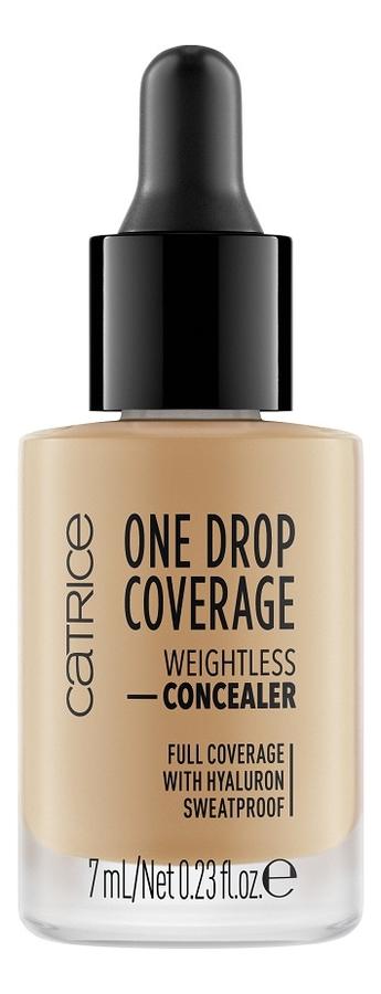 Консилер для лица One Drop Coverage Weightless Concealer 7мл: 050 Bronze Beige консилер для лица ultimate coverage crease proof concealer 12мл c1