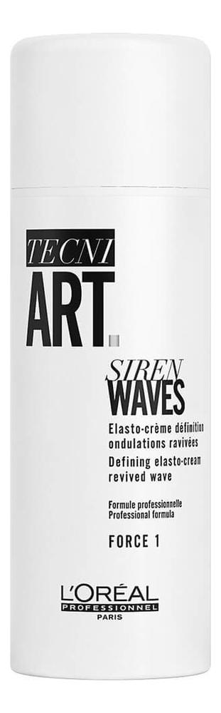 Фиксирующий спрей для волос Tecni. Art Siren Waves Force 1 150мл