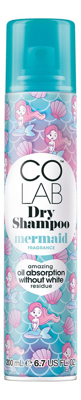 Сухой шампунь для волос Mermaid Fragrance Dry Shampoo 200мл (с ароматом морского ветра и мандарина)