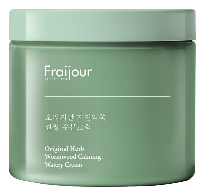 Крем для лица Fraijour Original Herb Wormwood Calming Watery Cream 100мл успокаивающий тонер для лица ac collection calming liquid intensive 125мл
