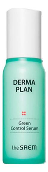 Сыворотка для лица Derma Plan Green Control Serum 60мл крем для лица успокаивающий the saem derma plan green calming cream 70 мл
