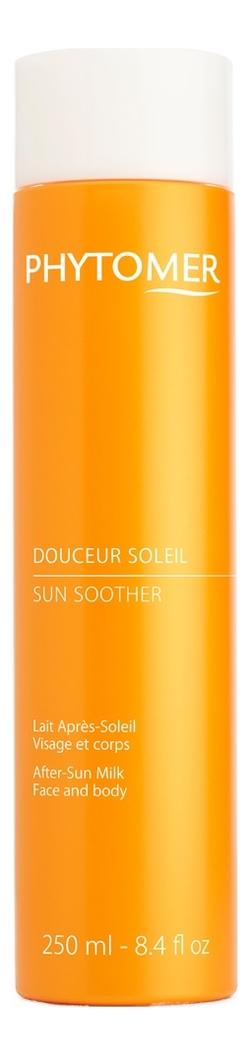 Молочко для тела после загара Douceur Soleil Lait Apres-Soleil Visage Et Corps 250мл et apres