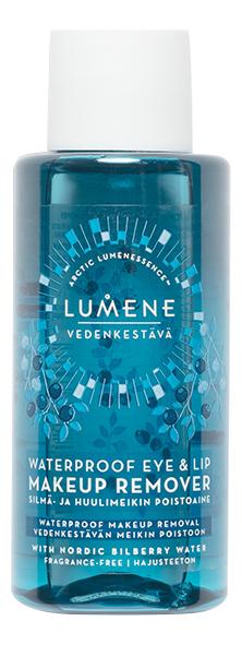 Средство для снятия водостойкого макияжа с глаз и губ Vedenkestava Waterproof Eye Lip Makeup Remover: Средство 50мл lumene бережное средство для снятия макияжа с глаз и губ 100 мл lumene herkka