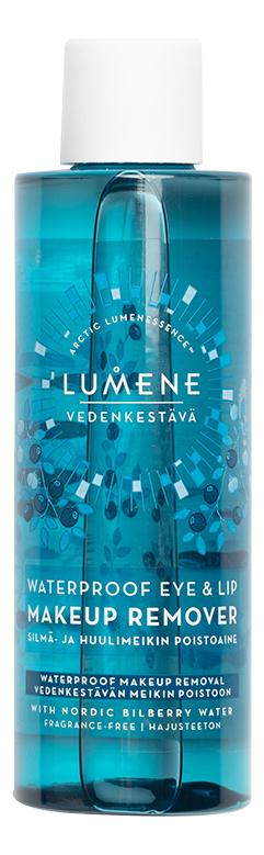 Средство для снятия водостойкого макияжа с глаз и губ Vedenkestava Waterproof Eye Lip Makeup Remover: Средство 100мл lumene бережное средство для снятия макияжа с глаз и губ 100 мл lumene herkka