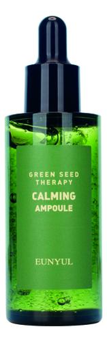 Ампульная сыворотка для лица с экстрактами зеленых плодов Green Seed Therapy Calming Ampoule 50мл успокаивающий тонер для лица ac collection calming liquid intensive 125мл