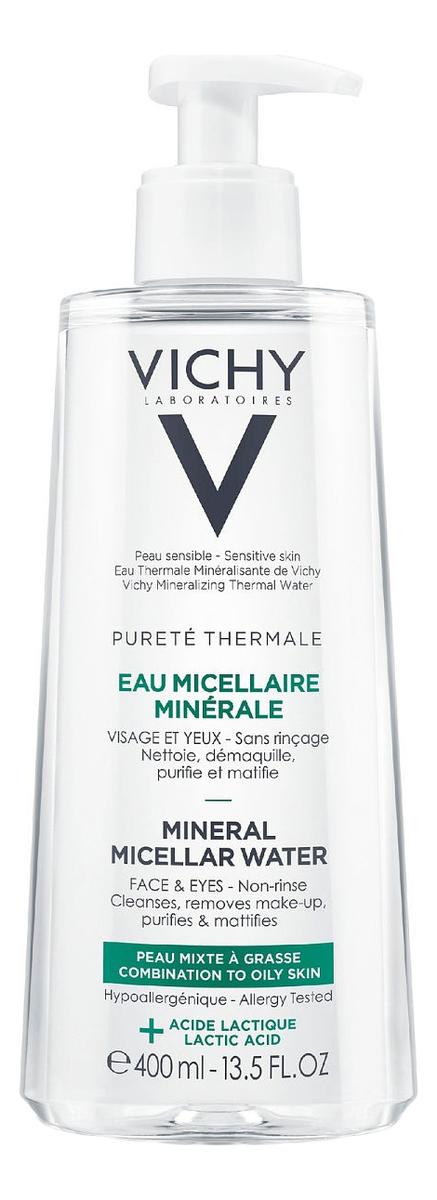 Мицеллярная вода с минералами Purete Thermale Aqua Micellar Mineral: Вода 400мл