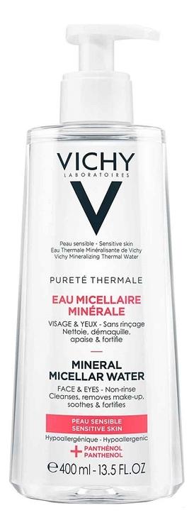 Мицеллярная вода с минералами для чувствительной кожи Purete Thermale Aqua Micelar Mineral: Вода 400мл