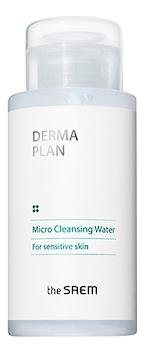 Очищающая вода для лица Derma Plan Micro Cleansing Water 300мл очищающая вода урьяж