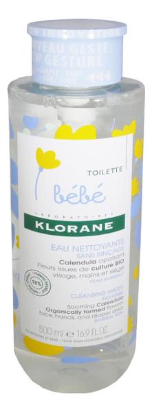 Мицеллярная вода для лица и тела Bebe Eau Nettoyante Micellaire: Вода 500мл (новый дизайн)